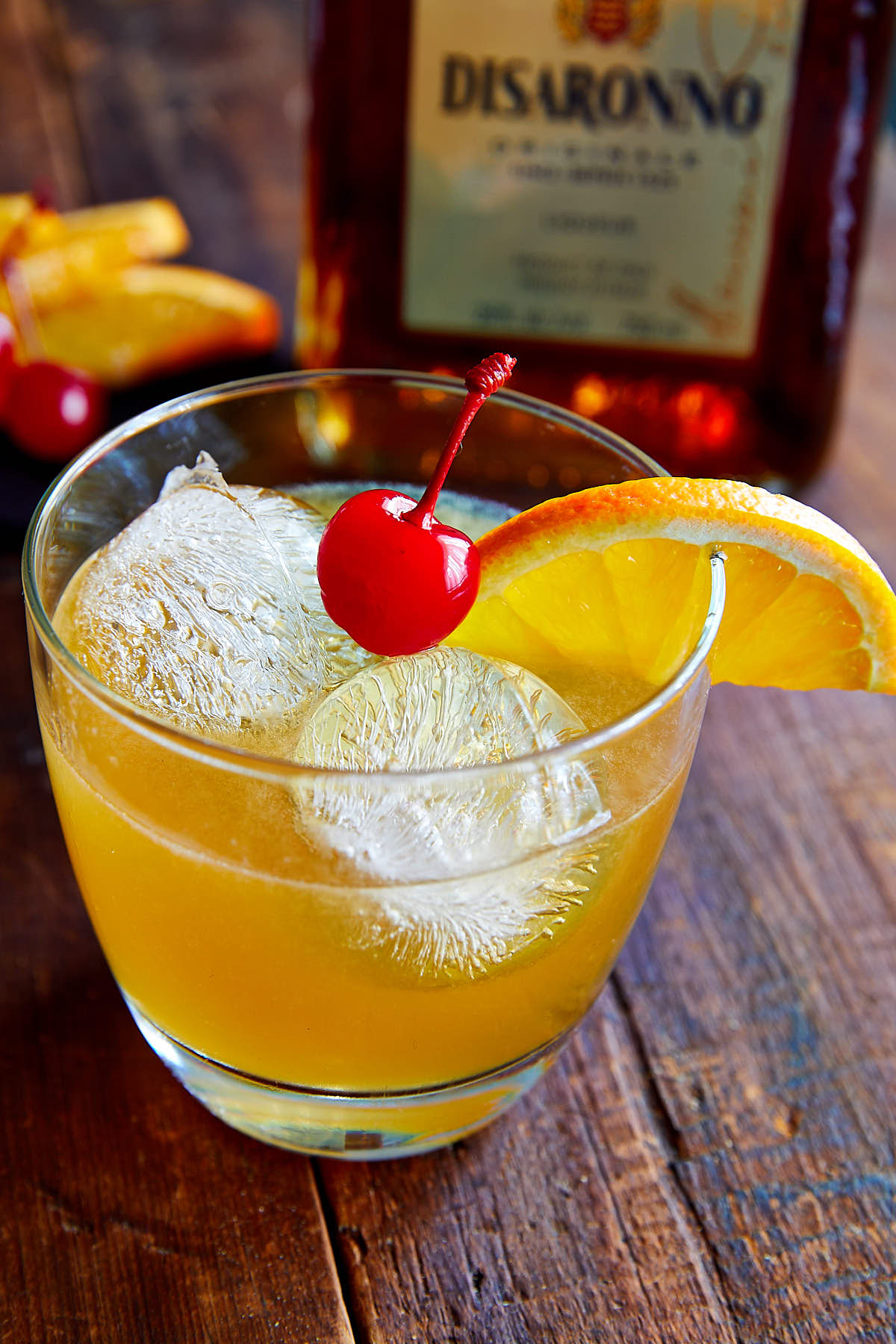 Amaretto Sour Recipe | ifoodblogger.com