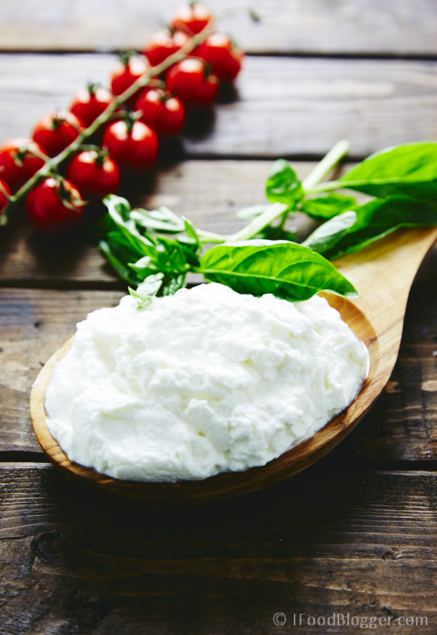 Creamy Homemade Ricotta Cheese