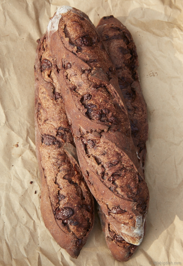 This my perfected chocolate baguette recipe. Not too sweet, not too savory. Simply perfect.