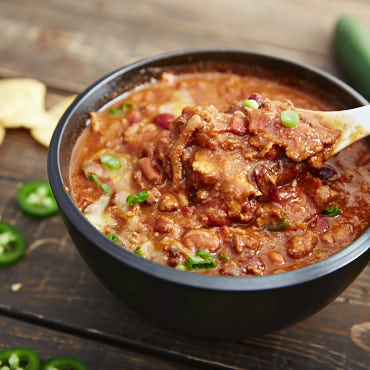 Spicy Chili with Bacon