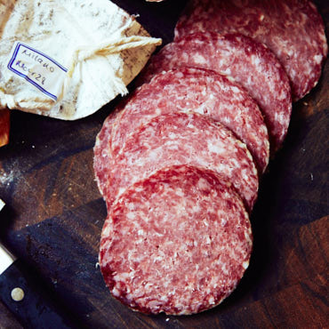 Homemade Milano Salami - Stanley Marianski's recipe for Milano salami, basically the same as Genoa salami. If you are learning how to make salami, this is a good recipe to try.
