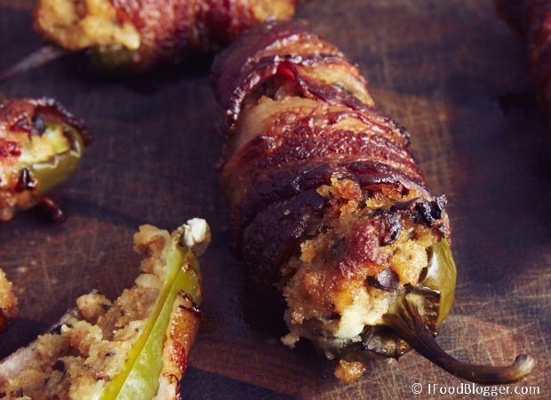 Smoked or grilled bacon wrapped jalapeno poppers is one of the best party foods and are very easy to make. A true crowd pleaser. Make sure you make enough. If you don't have a smoker or a charcoal grill that can dub as a smoker, you can grill them or bake in the oven. These ultimate bacon wrapped jalapeno poppers will taste delicious no matter how they are cooked.