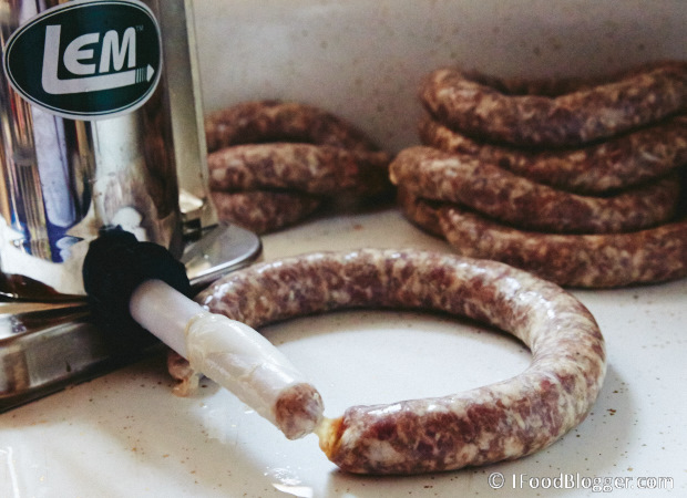 How to make real, Polish kielbasa at home. The name of this kielbasa is Swojska, which means homemade or self-made. It's one of the best and most flavorful Polish sausages.