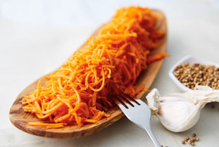 Marinated Shredded Carrot Salad