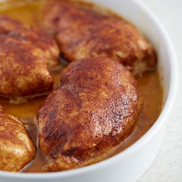 Tender and Moist Baked Chicken Breast in 3 Easy Steps