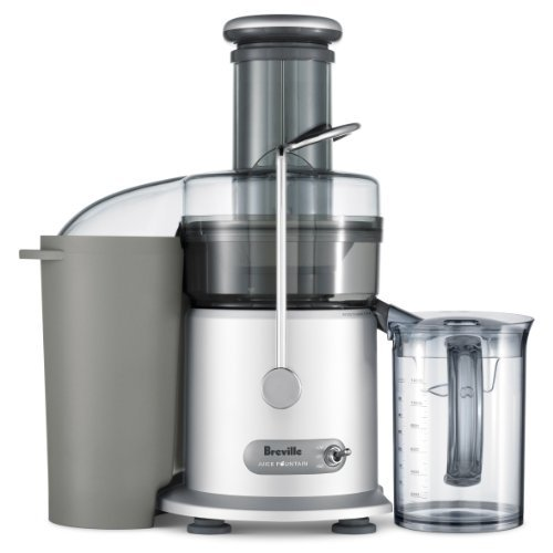 Best Juicers on the Market for Home Use - Breville JE98XL Juice Fountain Plus 850-Watt Juice Extractor