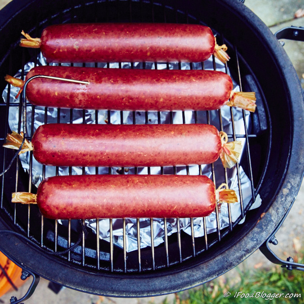 How to make summer sausage at home - smoked and ready
