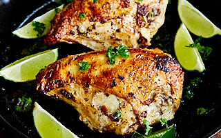 This chicken breast recipe is a one-pan, healthier, and a quicker version of our wildly popular family oven roasted chicken breast recipe.