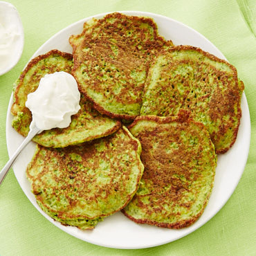 Zucchini and Broccoli Pancakes