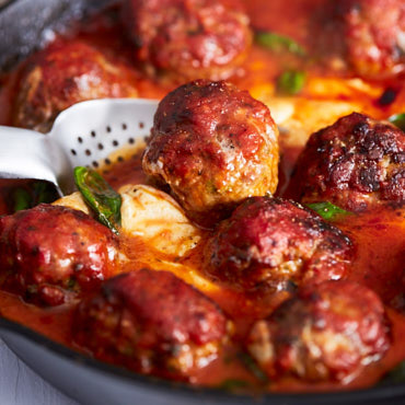 Easy-Cheesy-Oven-Baked-Meatballs