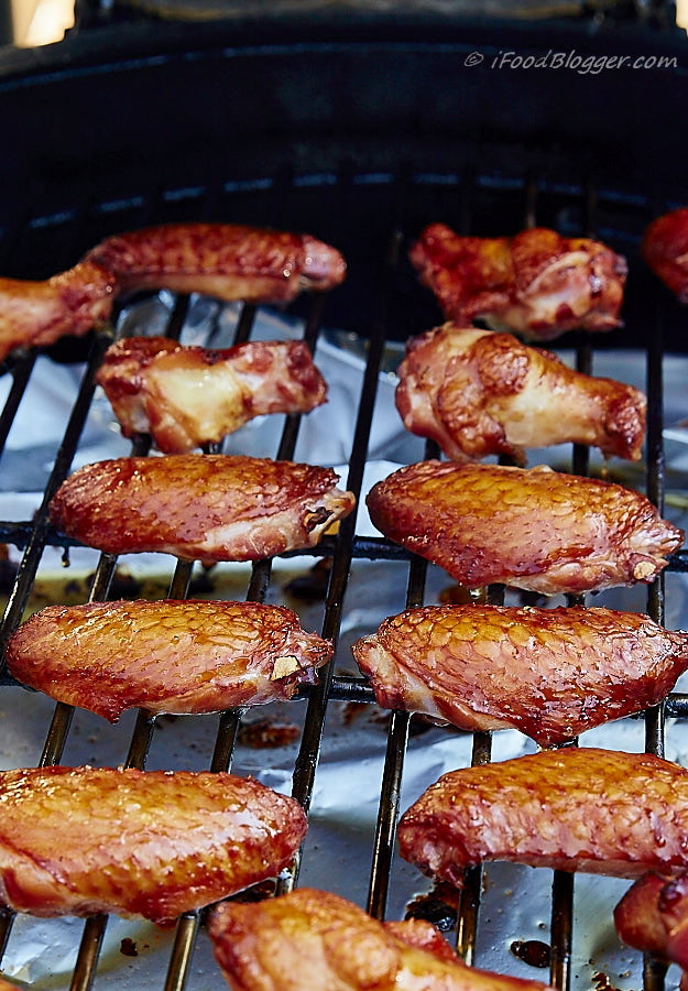 All the information you need about how to smoke chicken. Equipment, step by step instructions, brining, whole chicken and parts, tips and more.