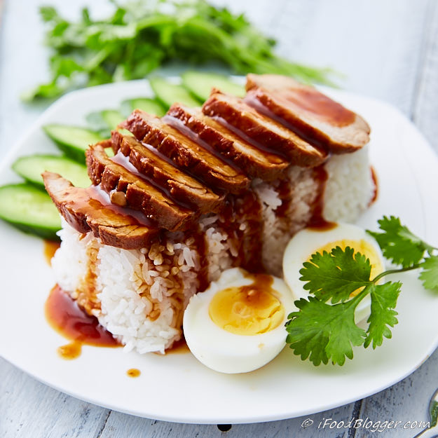 This Thai red BBQ pork with rice dish is simple to make yet amazingly delicious and presentable. Serve with jasmine rice and fresh vegetables.