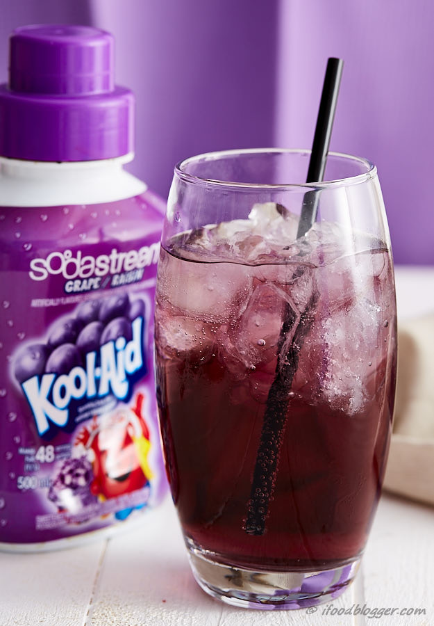 Learn how to make your own soda at home in a very easy and inexpensive way. All you need is a few tools, ingredients and a little bit of time. SodaStream Kool Aid soda syrup.