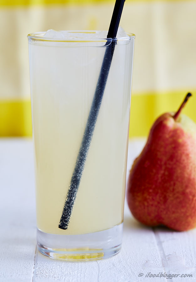 Learn how to make your own soda at home in a very easy and inexpensive way. All you need is a few tools, ingredients and a little bit of time. Pear, grape and honey soda syrup recipe.