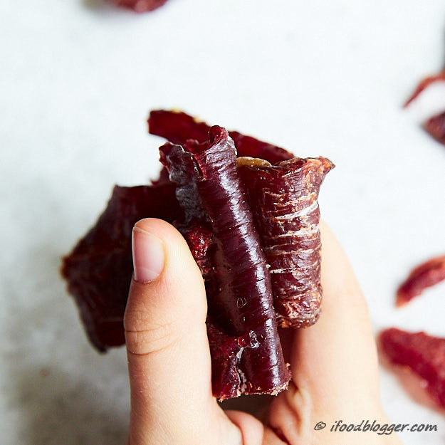 How to make traditional beef jerky - homemade jerky compare to Jack Links Bend Test