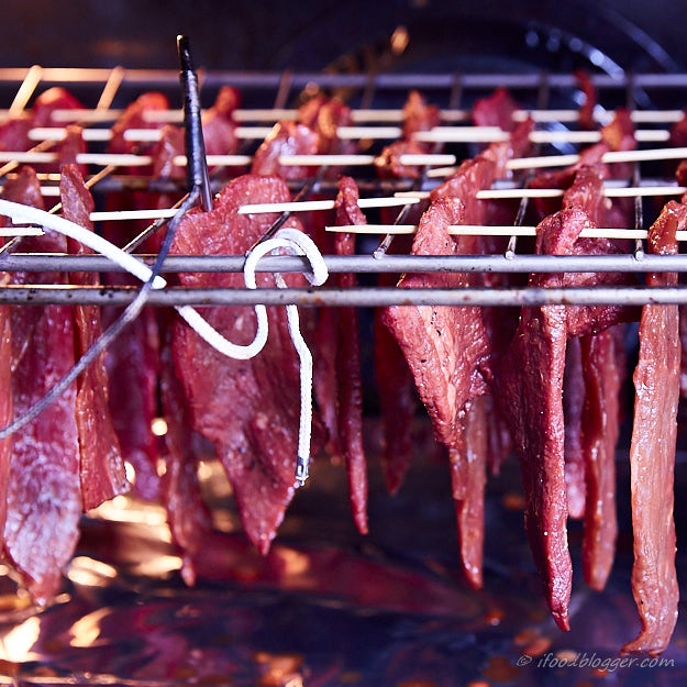 How to make traditional beef jerky - temperature monitoring