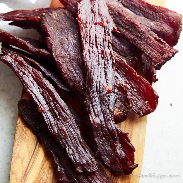 How to make traditional beef jerky - with Cure #1 (sodium nitrite)