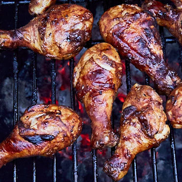 Spicy BBQ-Style Grilled Chicken Drumsticks