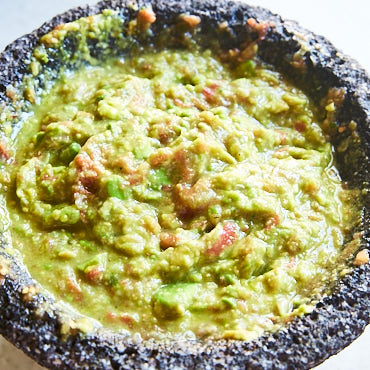 Authentic homemade guacamole recipe, step by step.