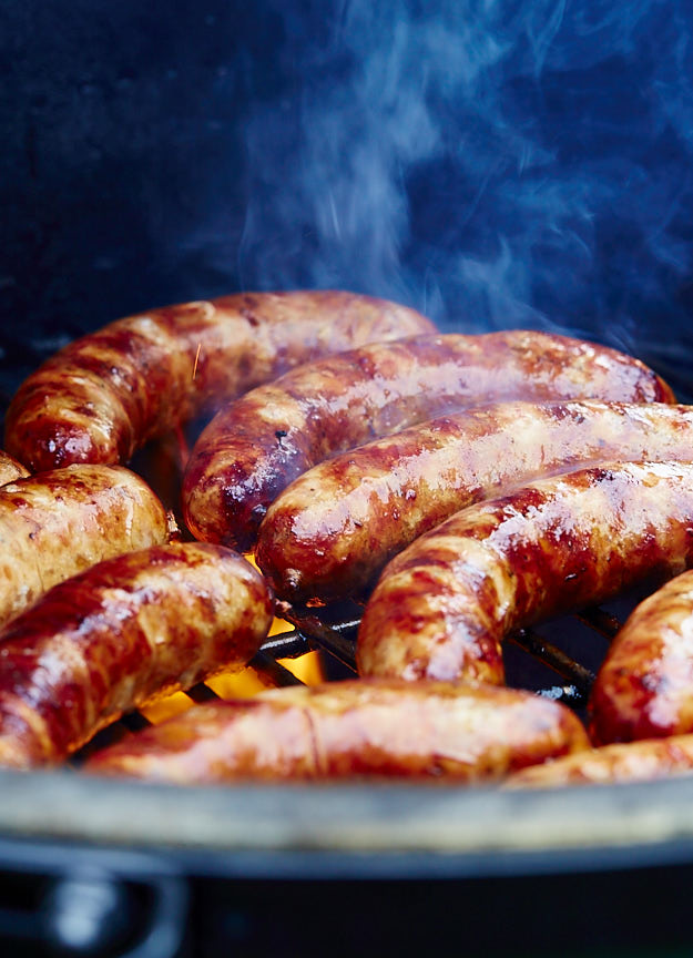 Here is the best way to cook brats to end with juicy, flavorful sausages that snap when you bite into them.