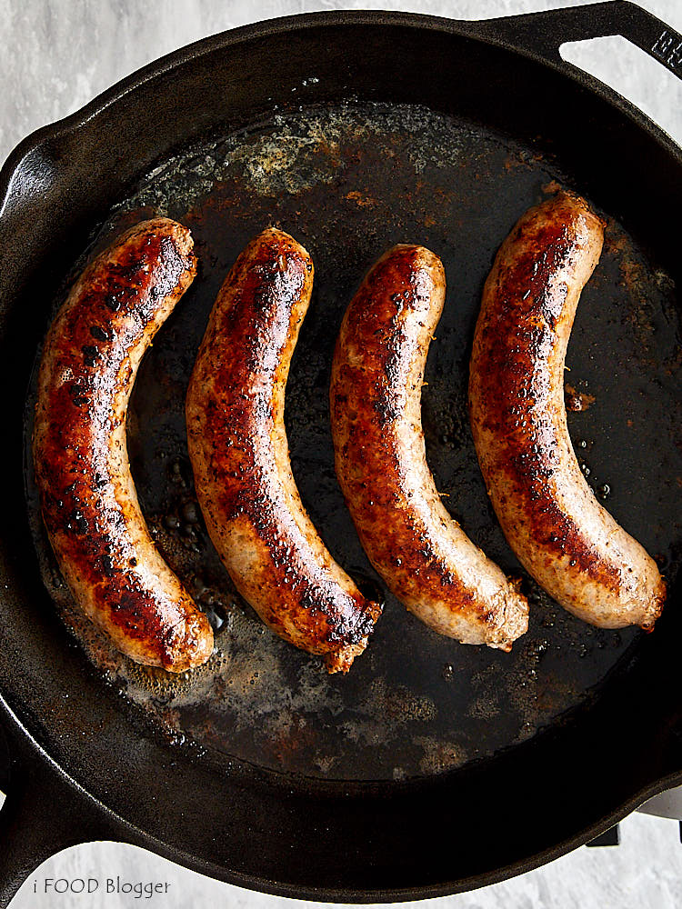 How To Cook Brats On The Stove I Food Blogger