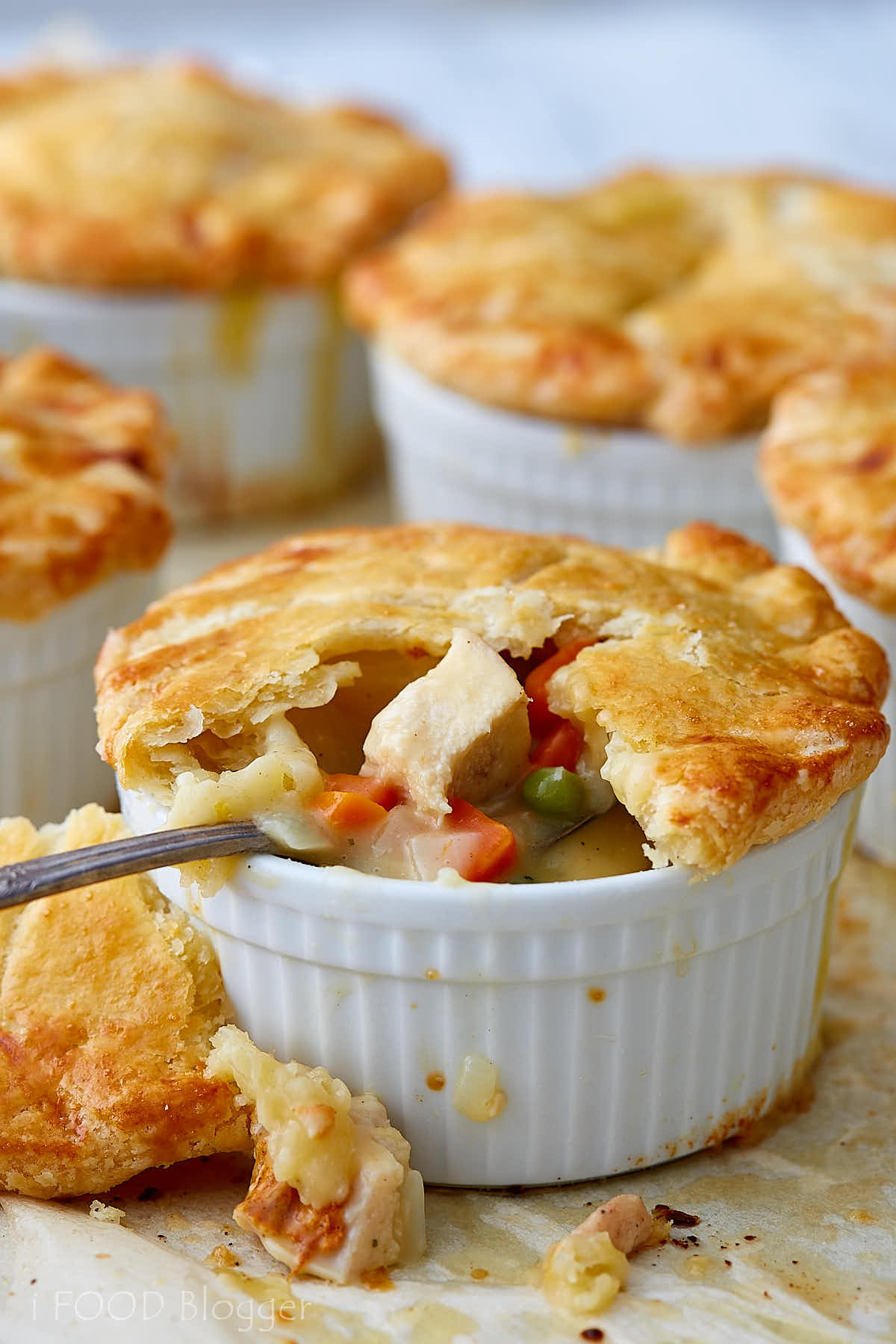 Seriously Good Homemade Chicken Pot Pie I Food Blogger