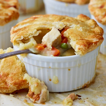 This is the ultimate homemade chicken pot pie recipe. The ingredients and the process are simple. Follow them and you will get one of the tastier pies ever.