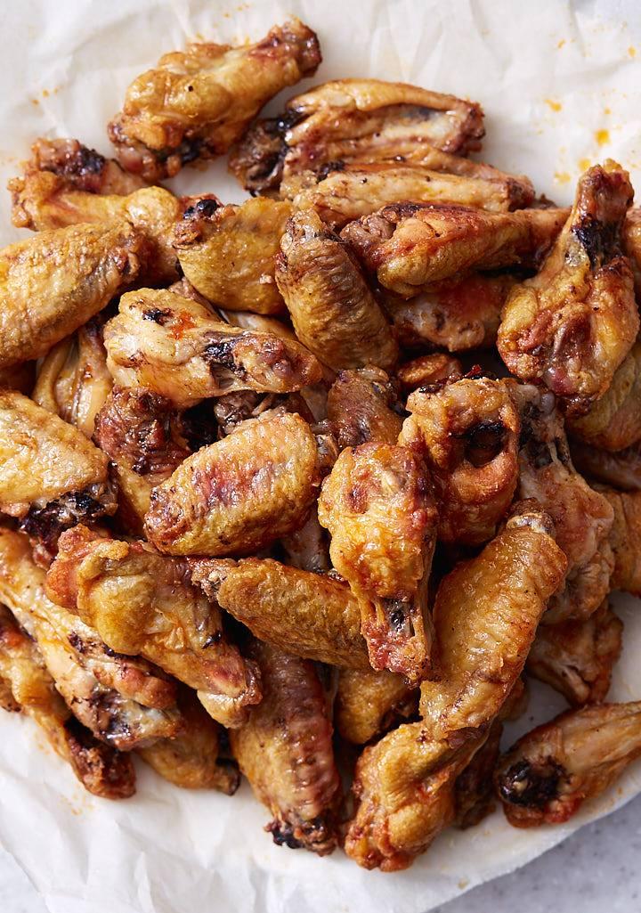 Baked Chicken Wings - Extra Crispy - i FOOD Blogger