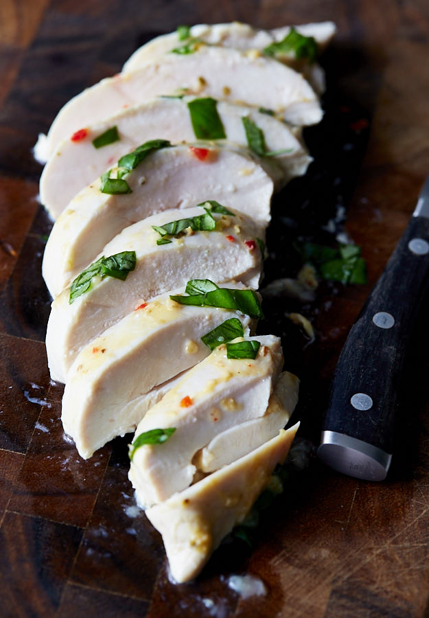 Juicy and very tender, this Italian dressing chicken will blow your socks off. Just marinate the chicken in Italian dressing and bake to the right temp.