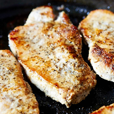 10-Minute Pan-Fried Boneless Pork Chops