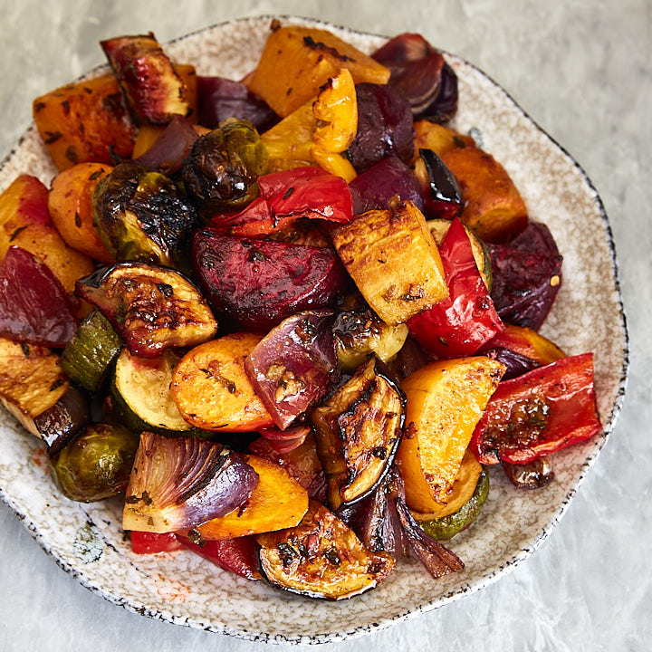 Scrumptious Roasted Vegetables - The best oven roasted vegetables recipe ever!