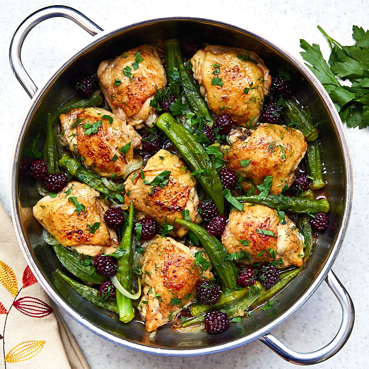 With no advance planning needed, these amazingly flavorful pan-fried chicken thighs take minutes to prepare. This traditional Armenian recipe is a must try!