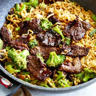 Richly flavored and coated in delicious, velvety-smooth sauce, this Mongolian beef will make you forget about restaurant-served Mongolian beef.
