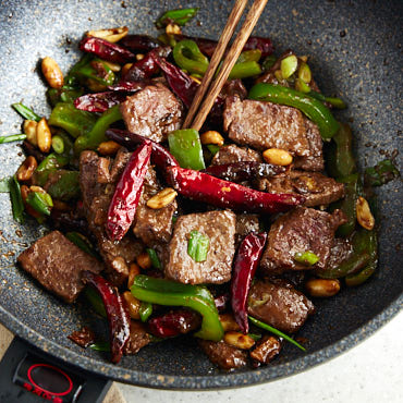 Kung Pao Beef (Traditional Recipe)
