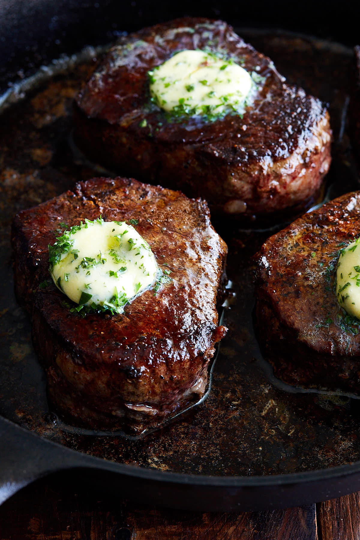 Homemade Filet Mignon with Compound Butter (Restaurant ...