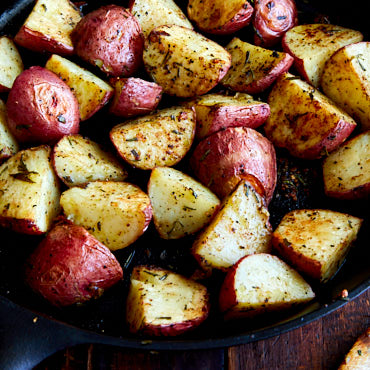 Rosemary Garlic Roasted Red Potatoes