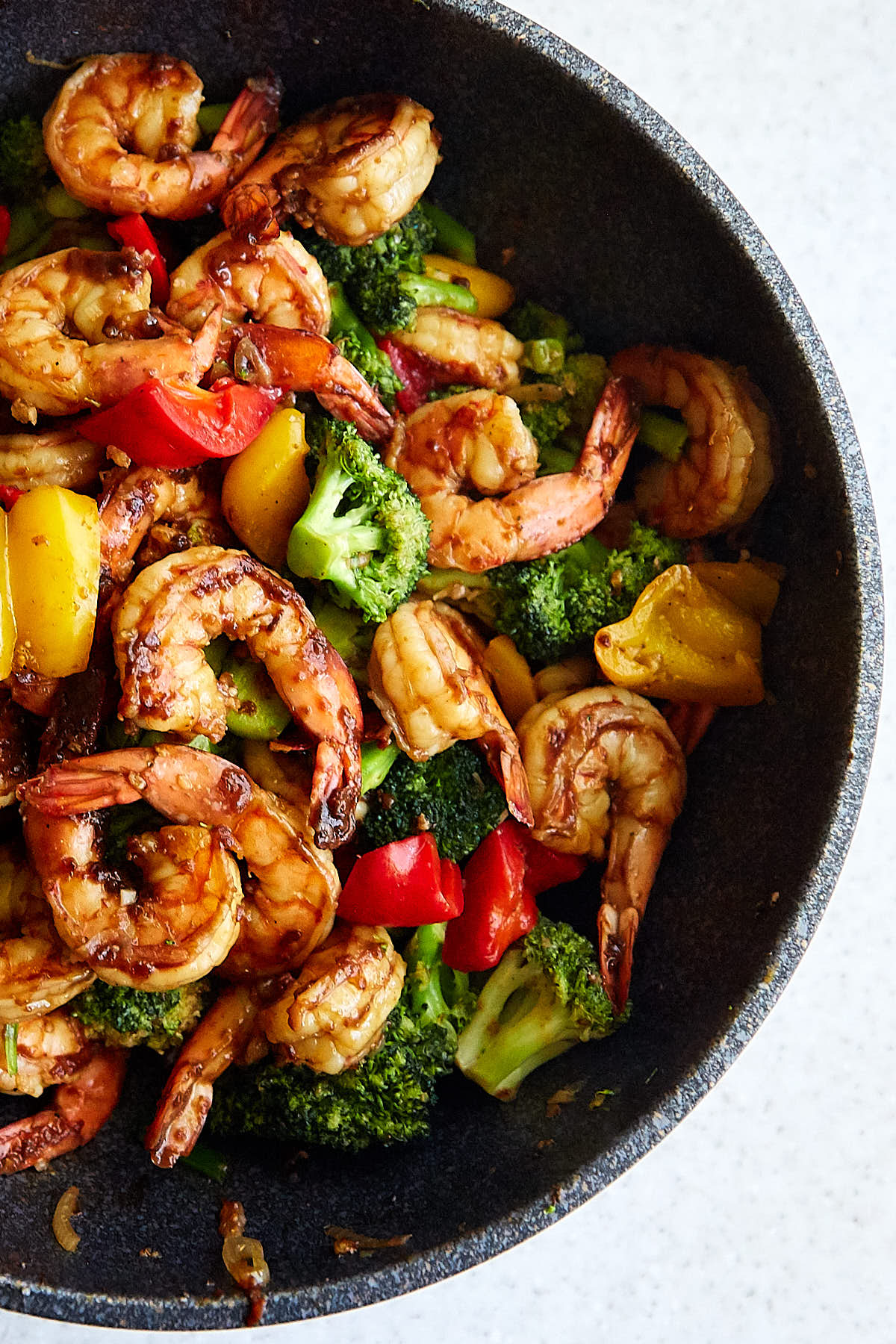Boldly flavored, pungent and spicy Szechuan shrimp is a delicious dish that can be easily made at home in 25 minutes or less.