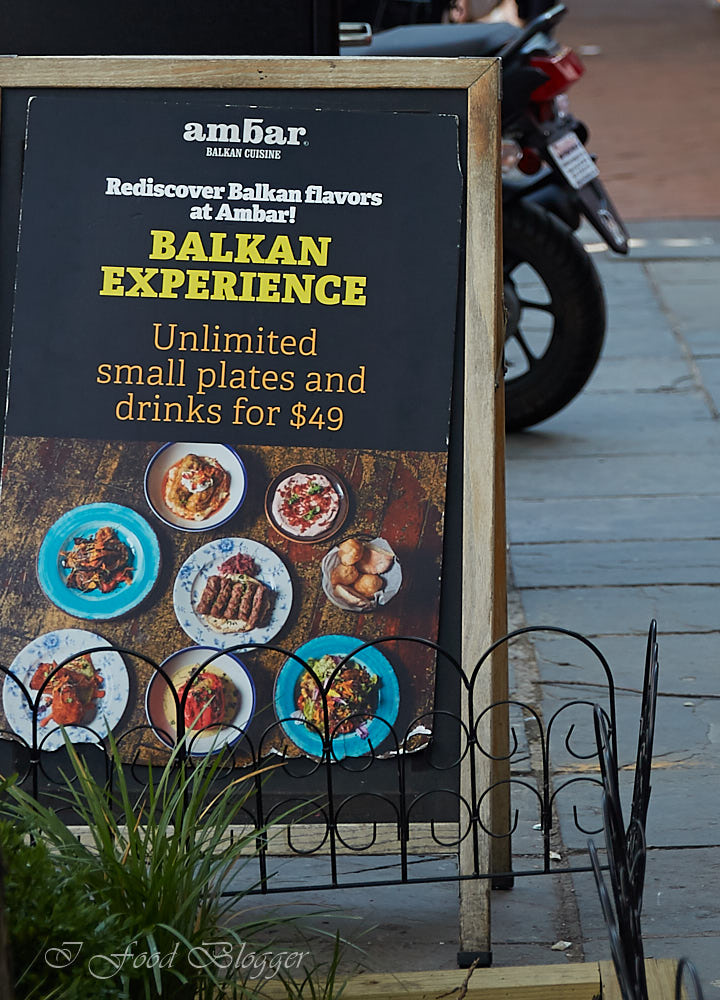Ambar restaurant in Washington DC