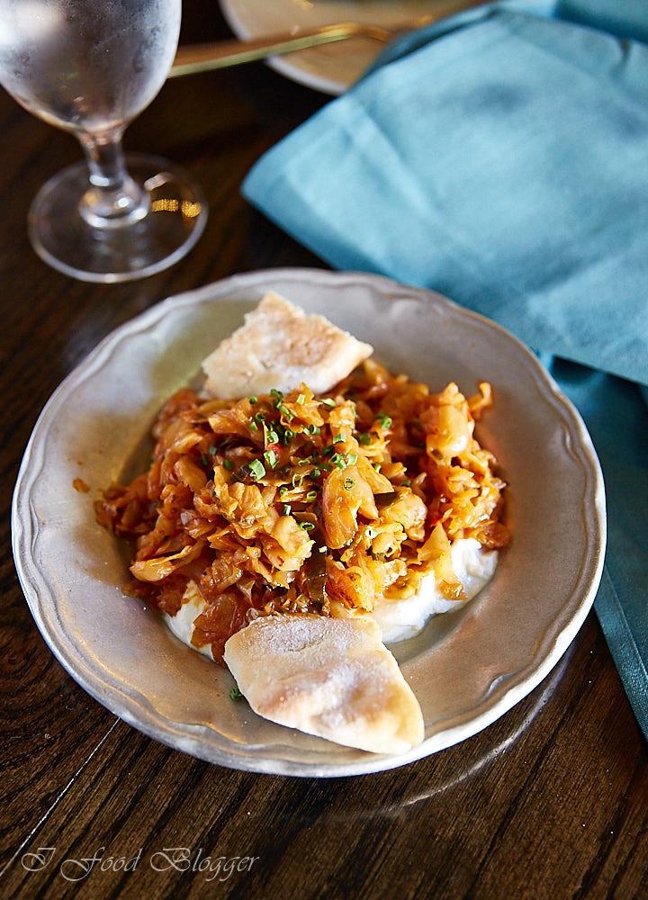 Ambar restaurant in Washington DC - Cabbage Casuela
