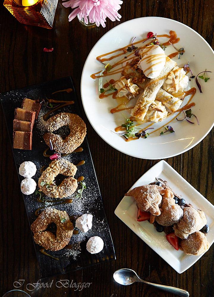 Ambar restaurant in Washington DC - desserts