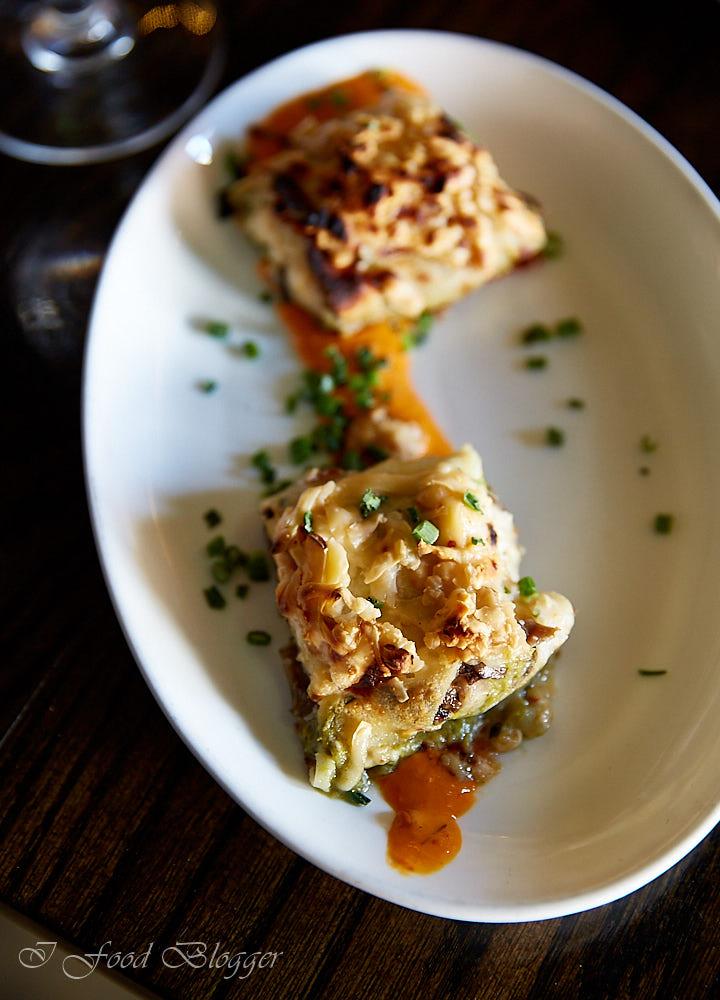 Ambar restaurant in Washington DC - Mushroom Crepes
