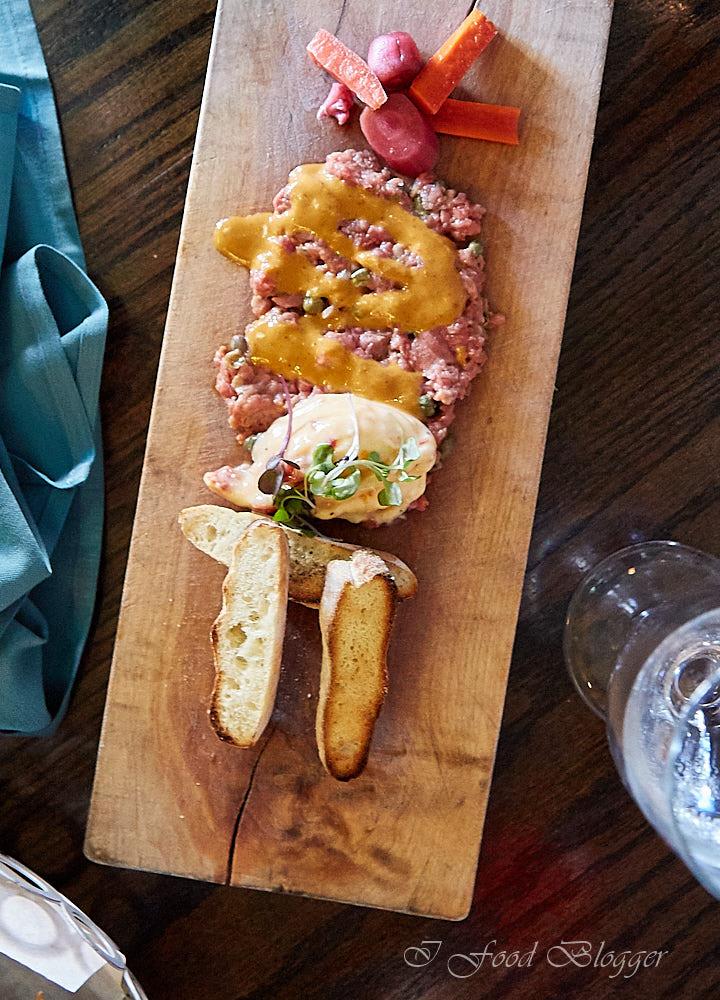 Ambar restaurant in Washington DC - Tartare-Steak