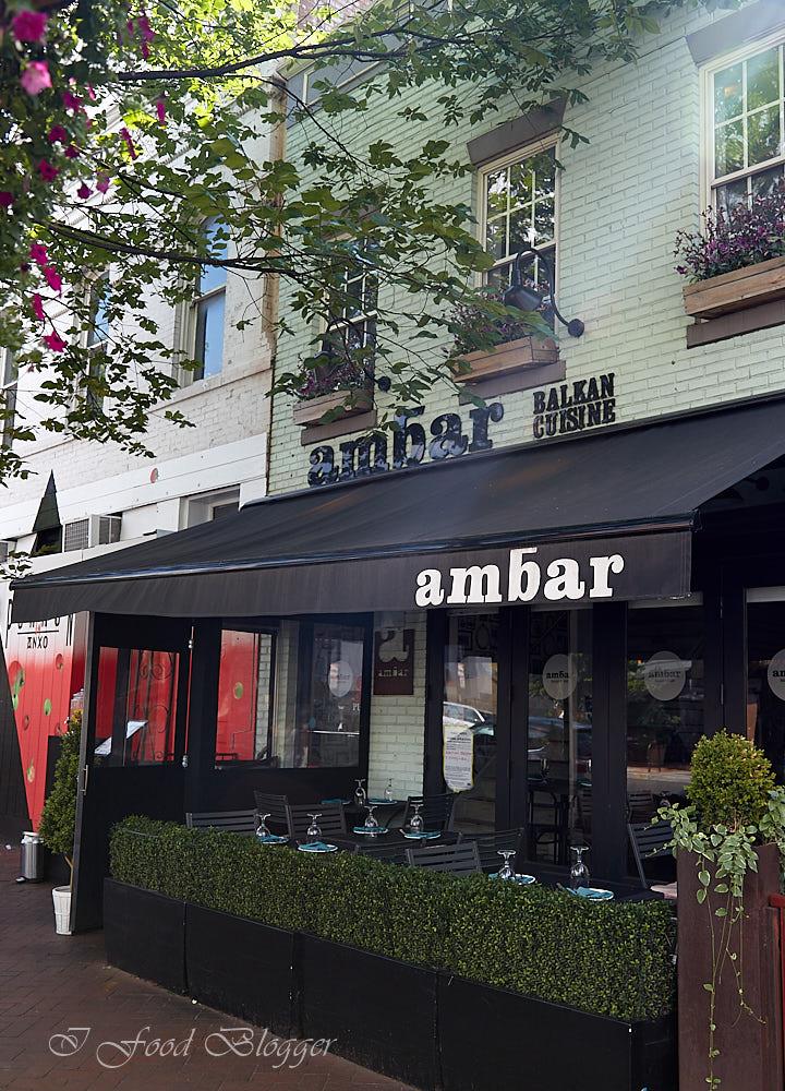 Ambar restaurant in Washington DC - Balkan-Food