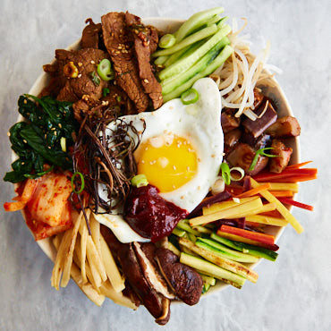 Korean Bibimbap (Mixed Rice) Recipe