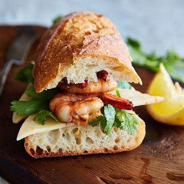 Grilled Shrimp Sandwich