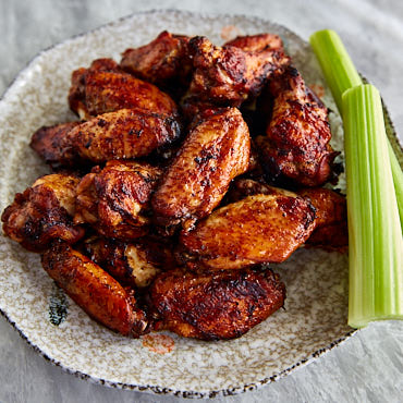 Traditional lemon pepper wings with a little twist that makes them much tastier.