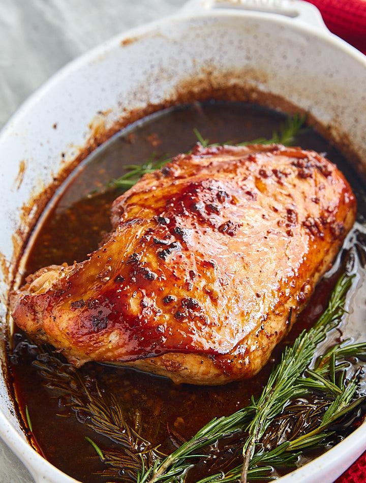 Roasted Marinated Turkey Breast I Food Blogger