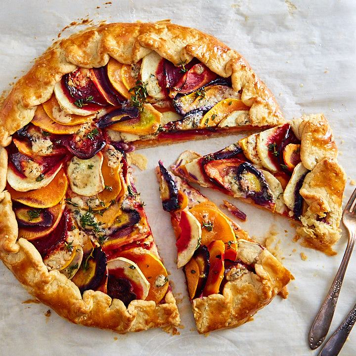 Roasted Vegetable Galette | ifoodblogger.com