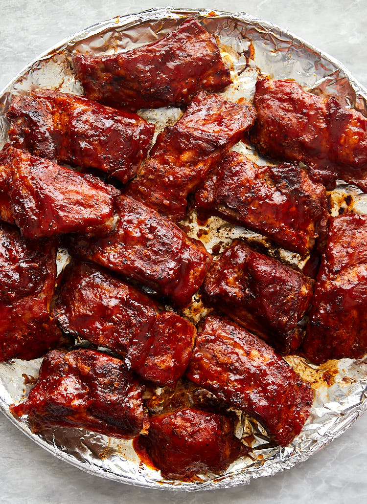Melt-in-your-mouth-tender Baby Back Ribs Baked in Oven