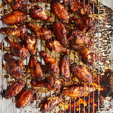 Perfectly Broiled Chicken Wings